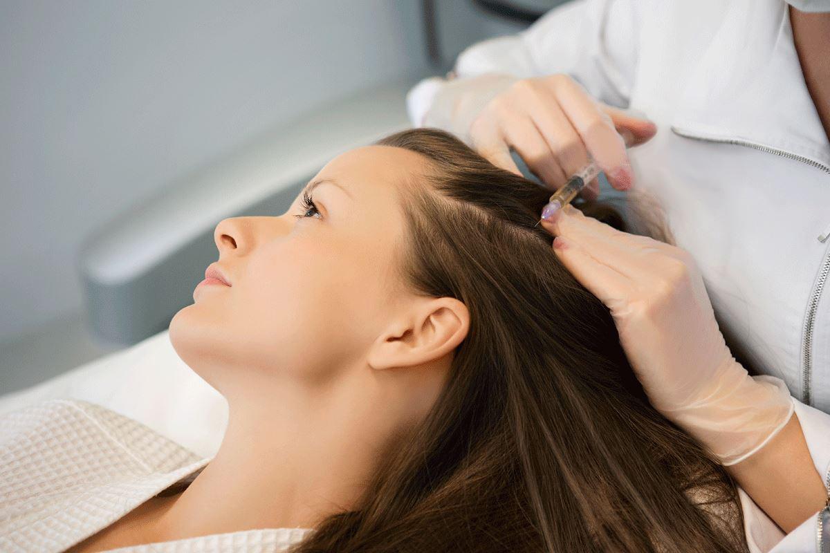 мезотерапия волосистой части головы