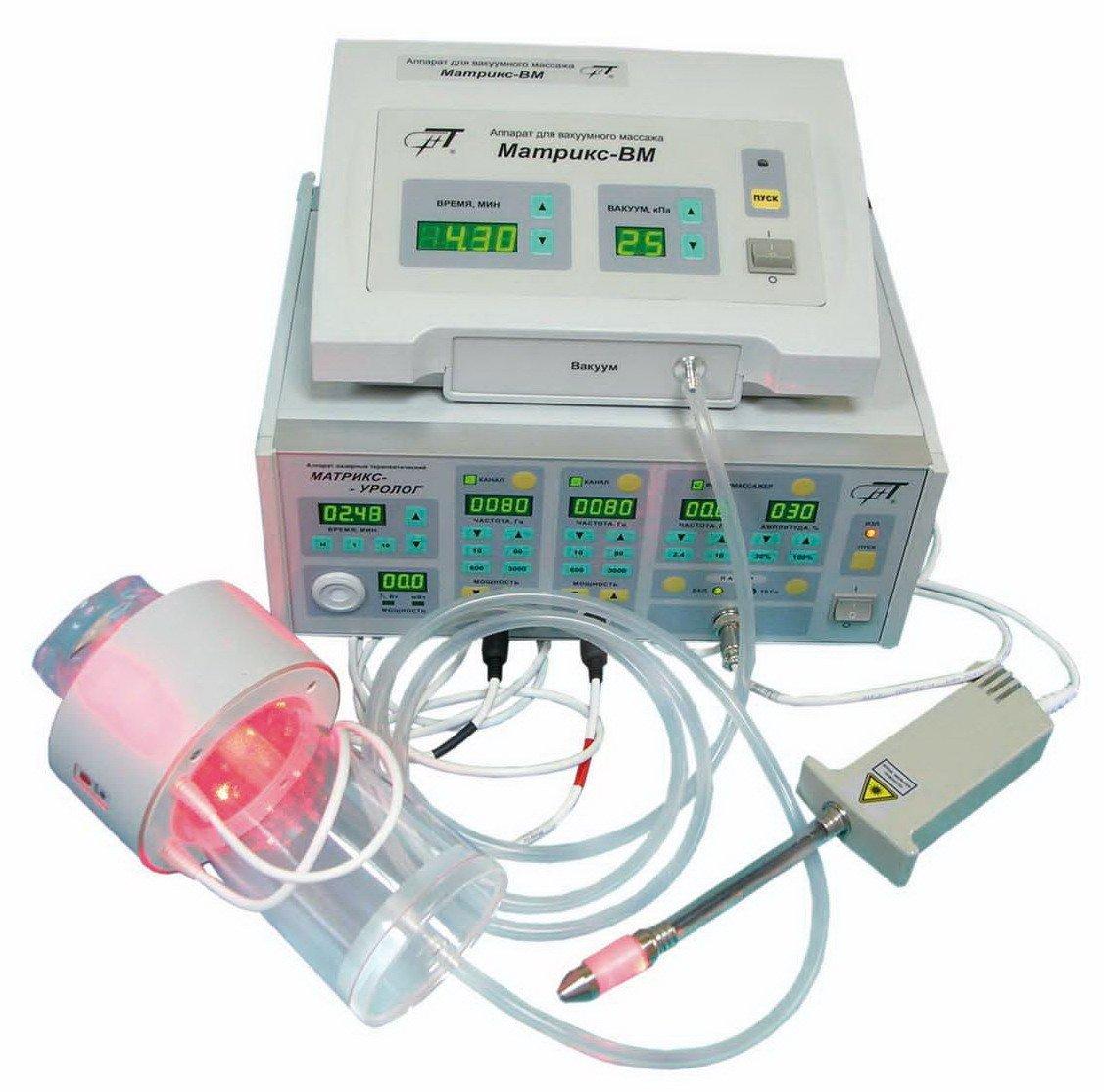 приборы для лазерного лечения простатита